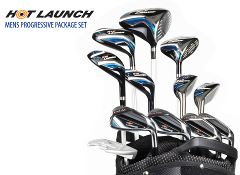 Tour Edge Hot Launch Hybrid Iron with Graphite Shaft